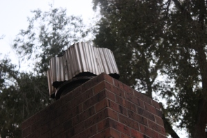 DIY Windproof Chimney Cap