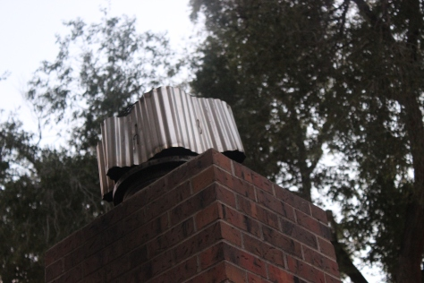 how to build wood stove chimney